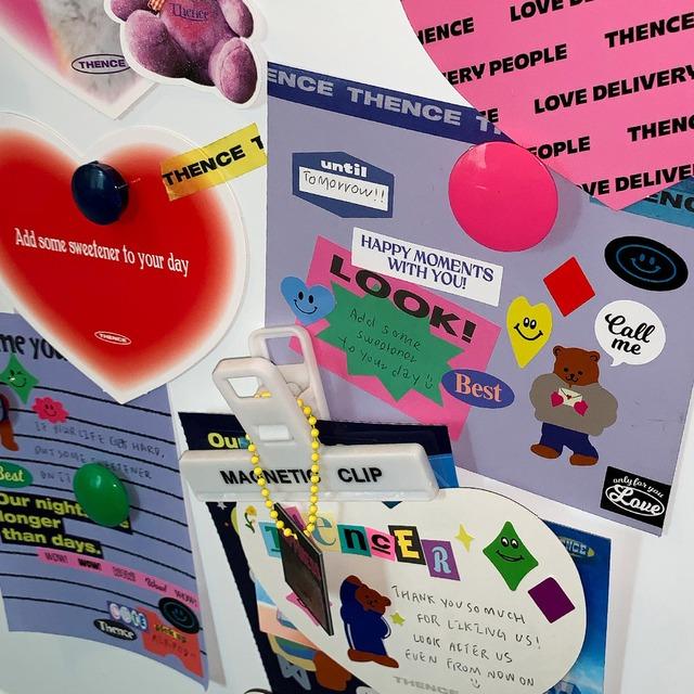 「HEART」封筒付き 型抜きカード セット(8枚)