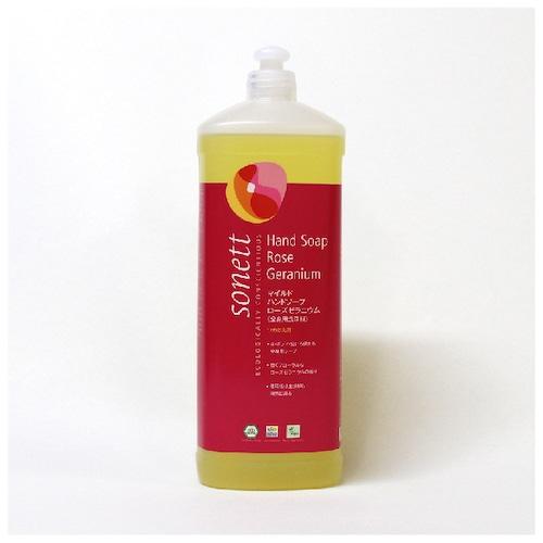 SONETT マイルドハンドソープ ローズゼラニウム 1L (全身用洗浄料)詰替え