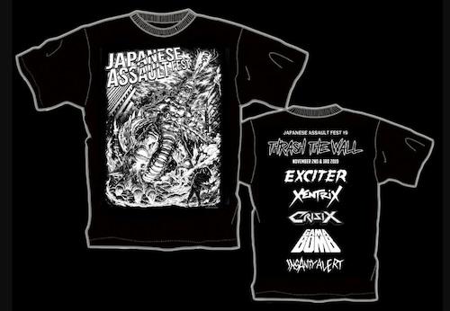 JAPANESE ASSAULT FEST 19 限定Tシャツ