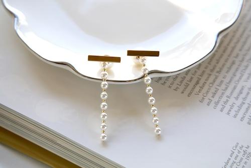Straight pearls