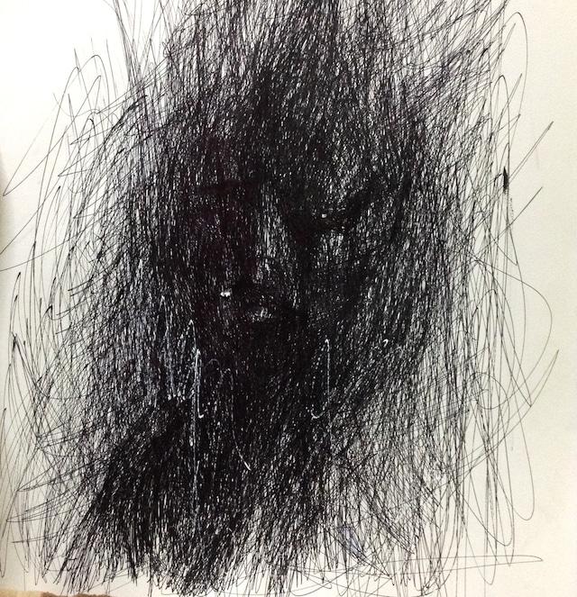 内に巣食う光(F10号 53×45.5cm)
