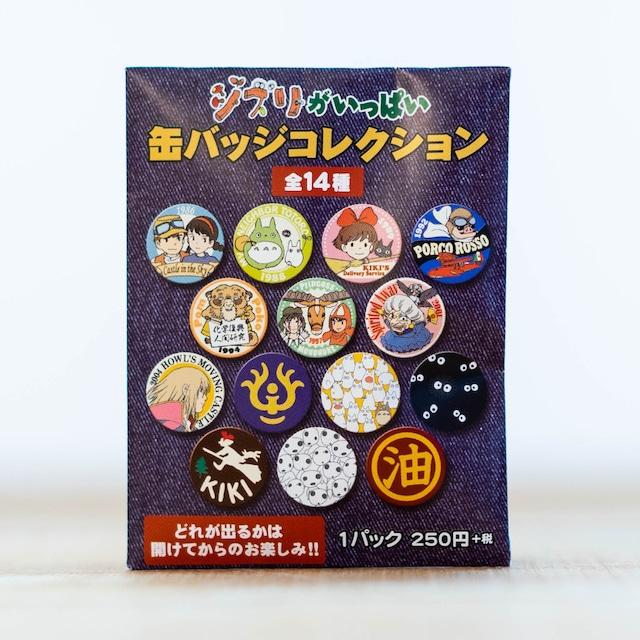 スタジオジブリ ジブリがいっぱい 缶バッジコレクション(1個)
