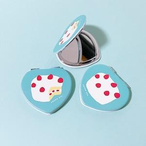 ケーキコンパクトミラー