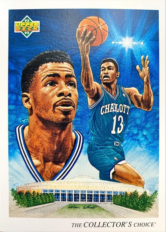 NBAカード 92-93UPPERDECK Kendall Gill #43 HORNETS