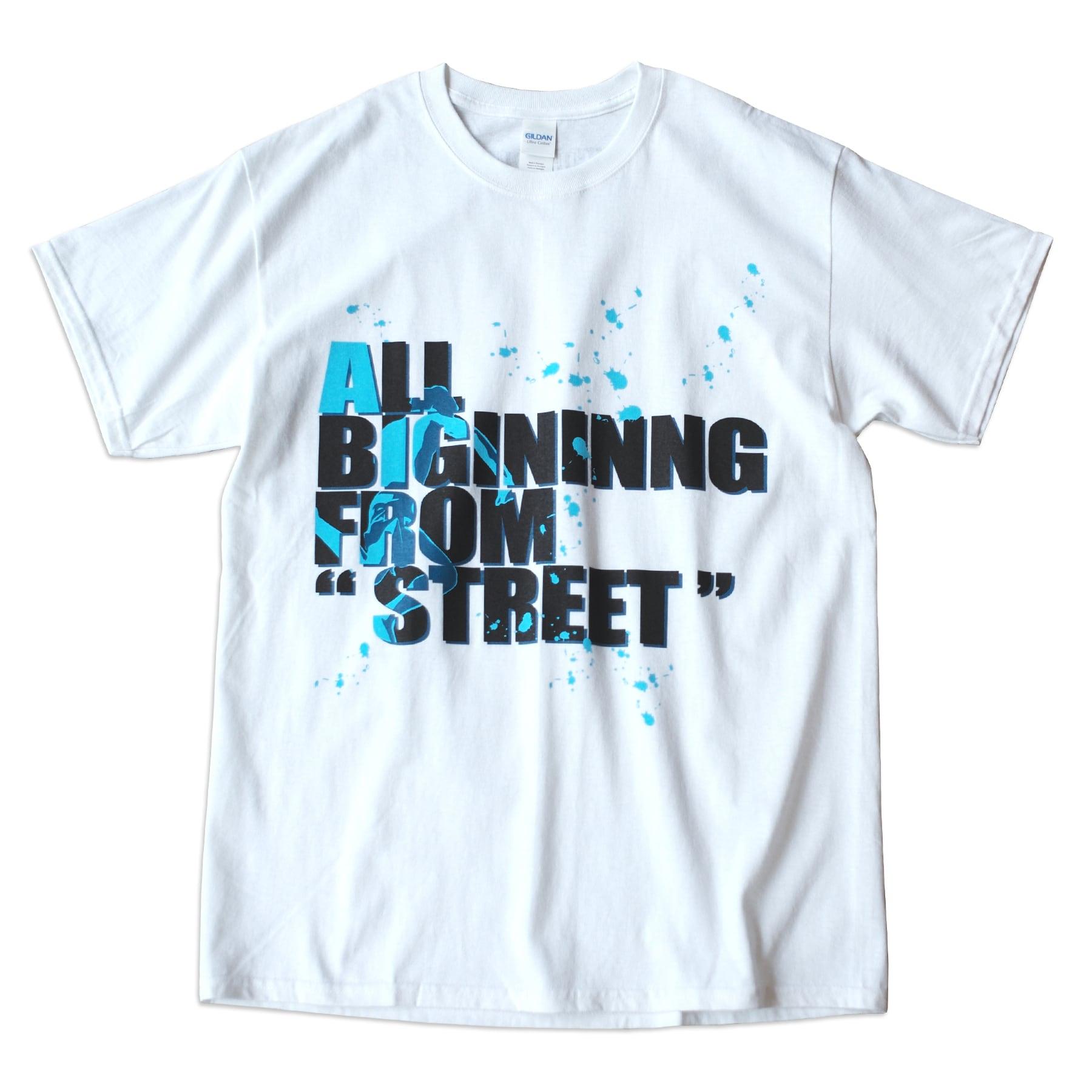 応援Tシャツ.TS01 White
