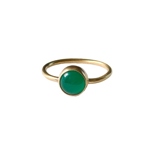 Topping ring forest green 15号