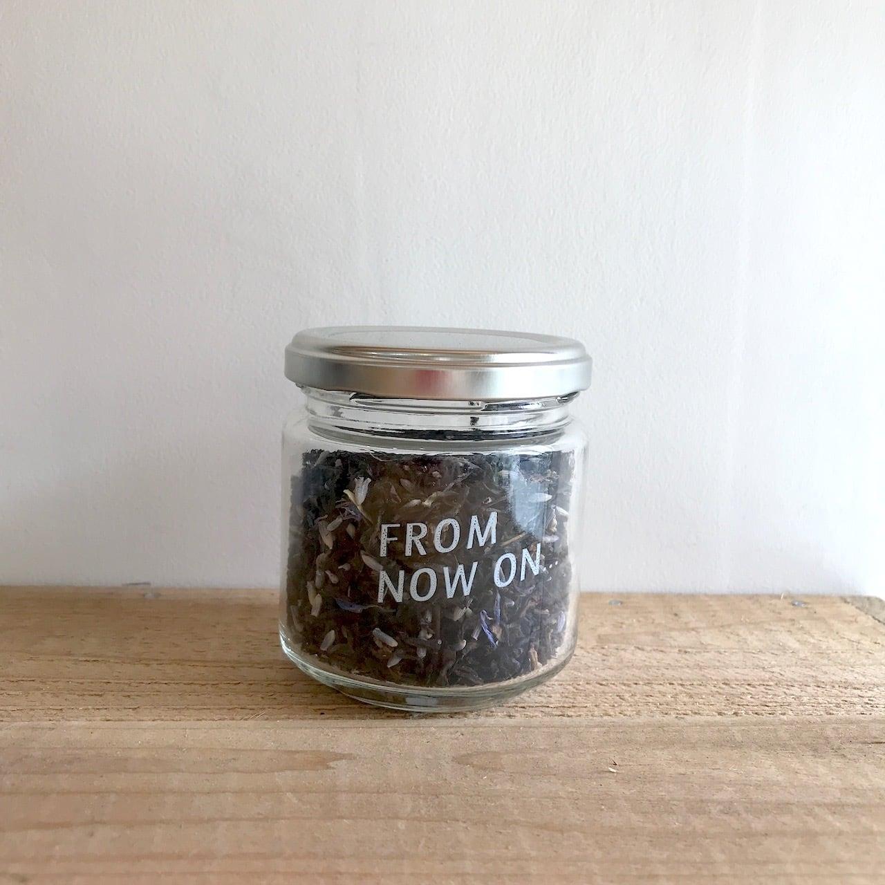 """"""" FNO Lavender vanilla flavored tea / ラベンダー バニラ フレーバーティー ガラスS 30g """""""