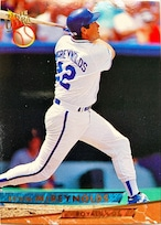 MLBカード 93FLEER Kevin McReynosds #214 ROYALS