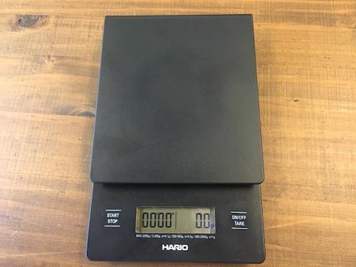 HARIO(ハリオ) V60ドリップスケールVST-2000B