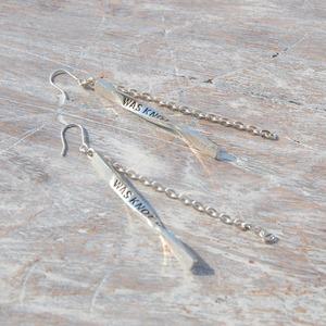 ツイストピアス シルバーピアス レディース|WKW TWIST PIERCED EARRINGS|silver925 FA-112