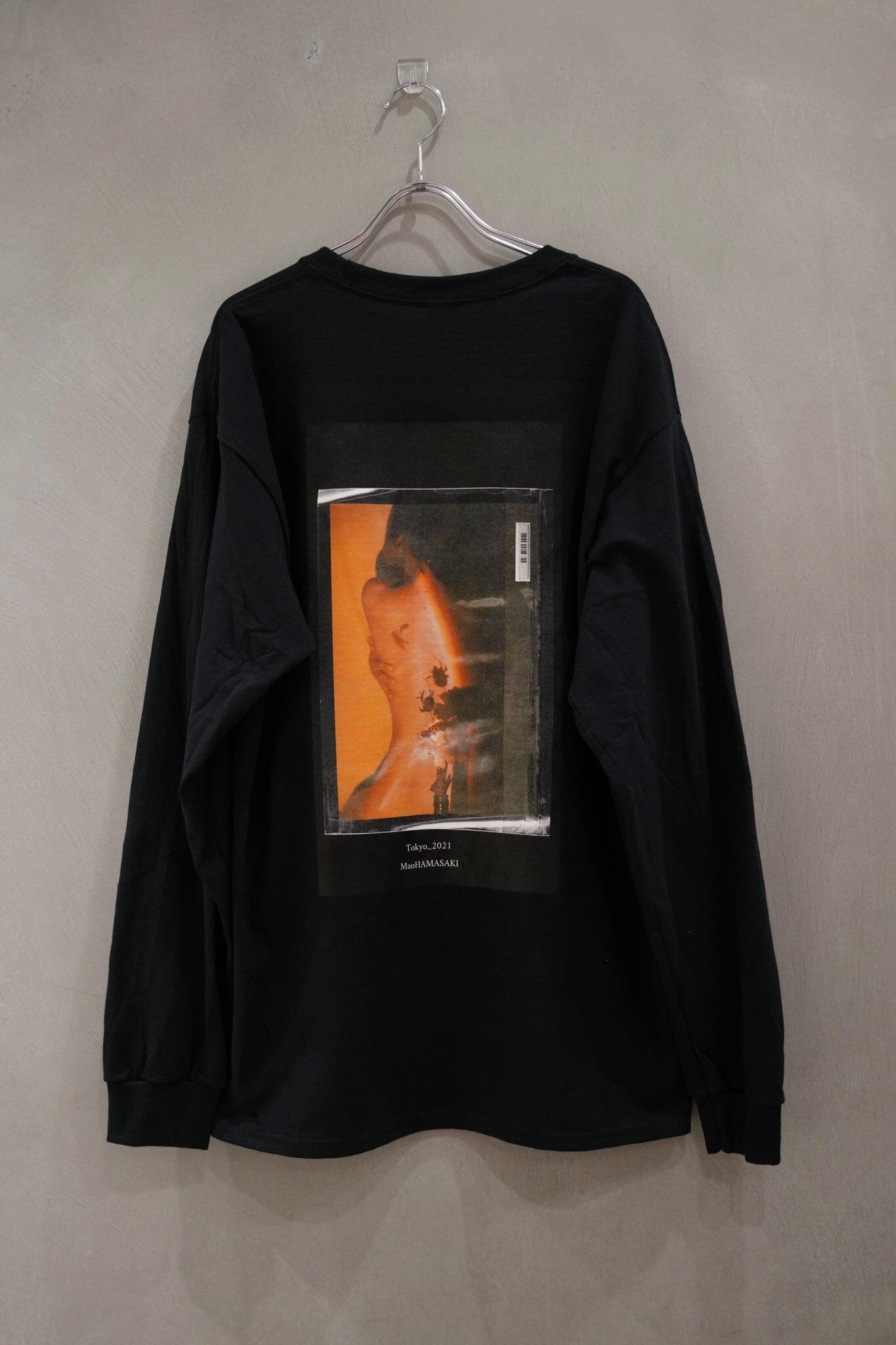 """【受注生産】Mao hamazaki collaboration tee """"back print"""""""