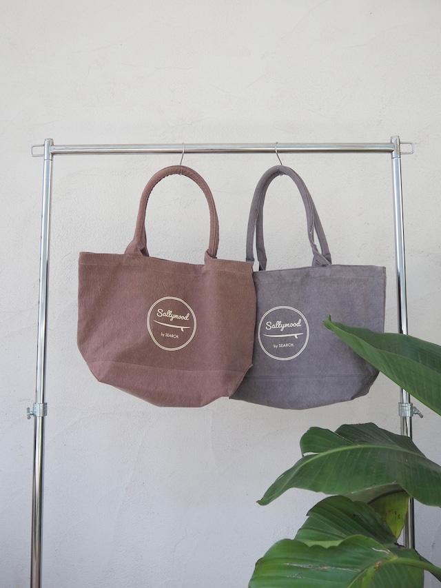 Saltymood Washed Tote Bag《BRN/GRY》20382003