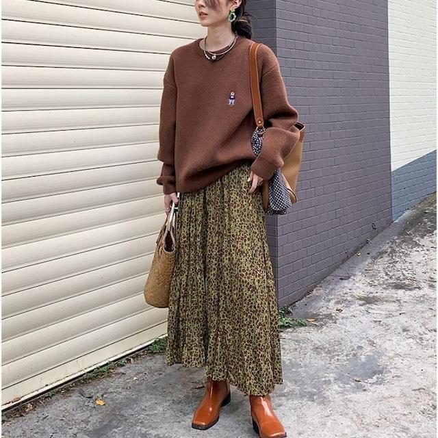Retro flower skirt KRE1094