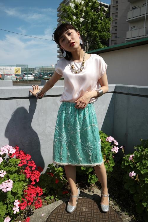 China sea skirt
