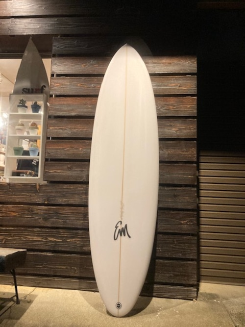 A39 Surfboards  MID 6'8'' Single+Stabi  Clear 送料込み