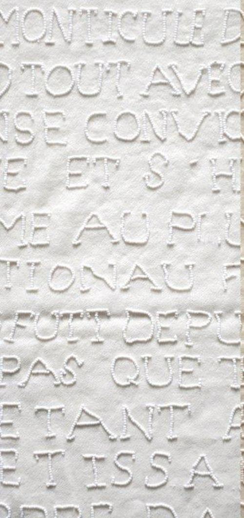 オレリーマティゴ ロングスカーフ パールホワイト