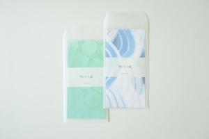 灯りの紙 −青海波/亀甲−