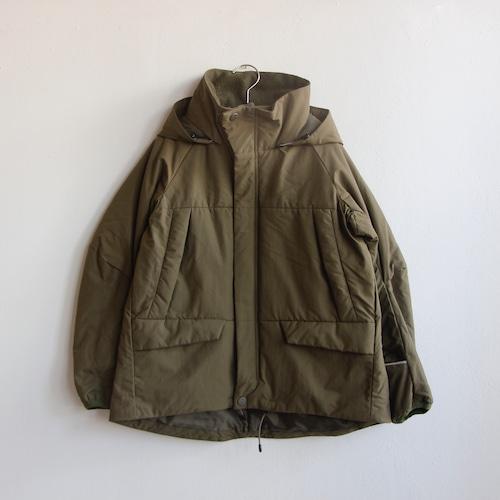 《MOUNTEN. 2021AW》puff coat / olive drab / size0(145-155cm程度)