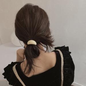 chocolate hair elastic(4color)