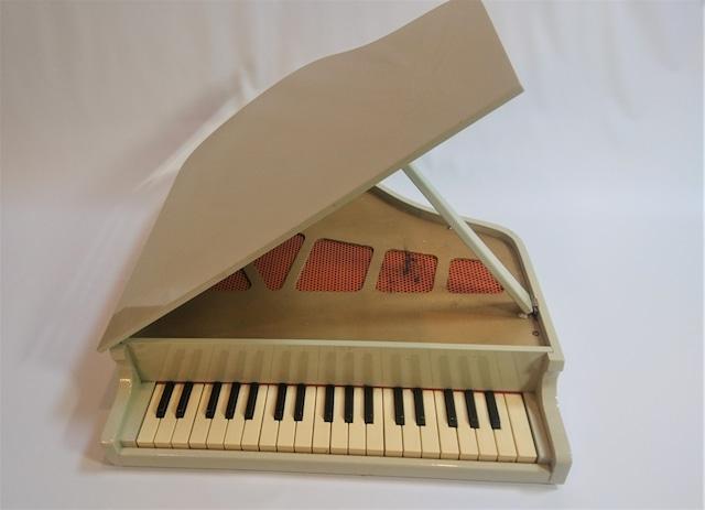 [vintage]kawaiトイピアノ37鍵盤 白