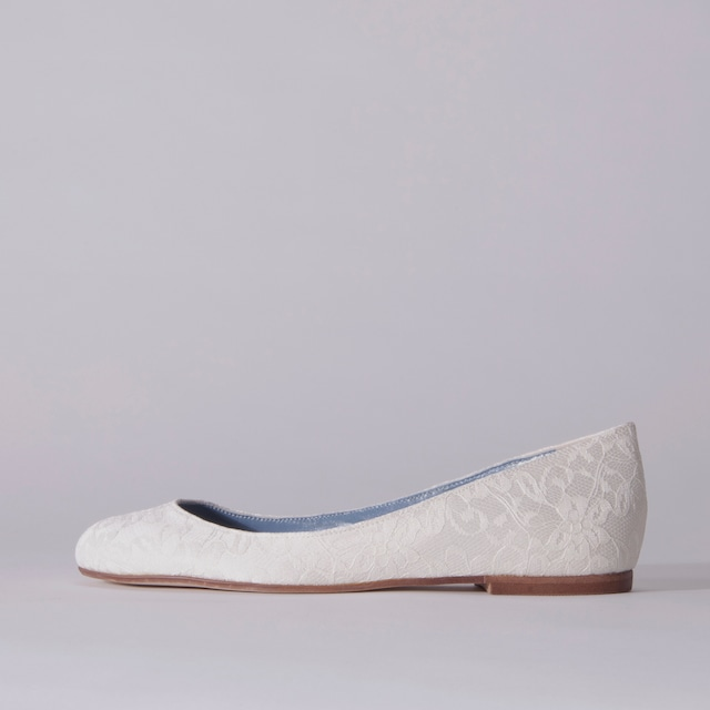 Lace / Close Toe / 1cm / WH 【3012 WH】