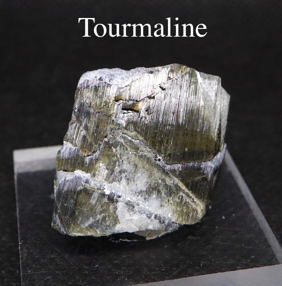 グリーントルマリン 電気石 カリフォルニア産 14g T191  鉱物 天然石 原石 パワーストーン