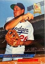 MLBカード 93FLEER Rafael Bournigal #050 DODGERS ルーキーカード