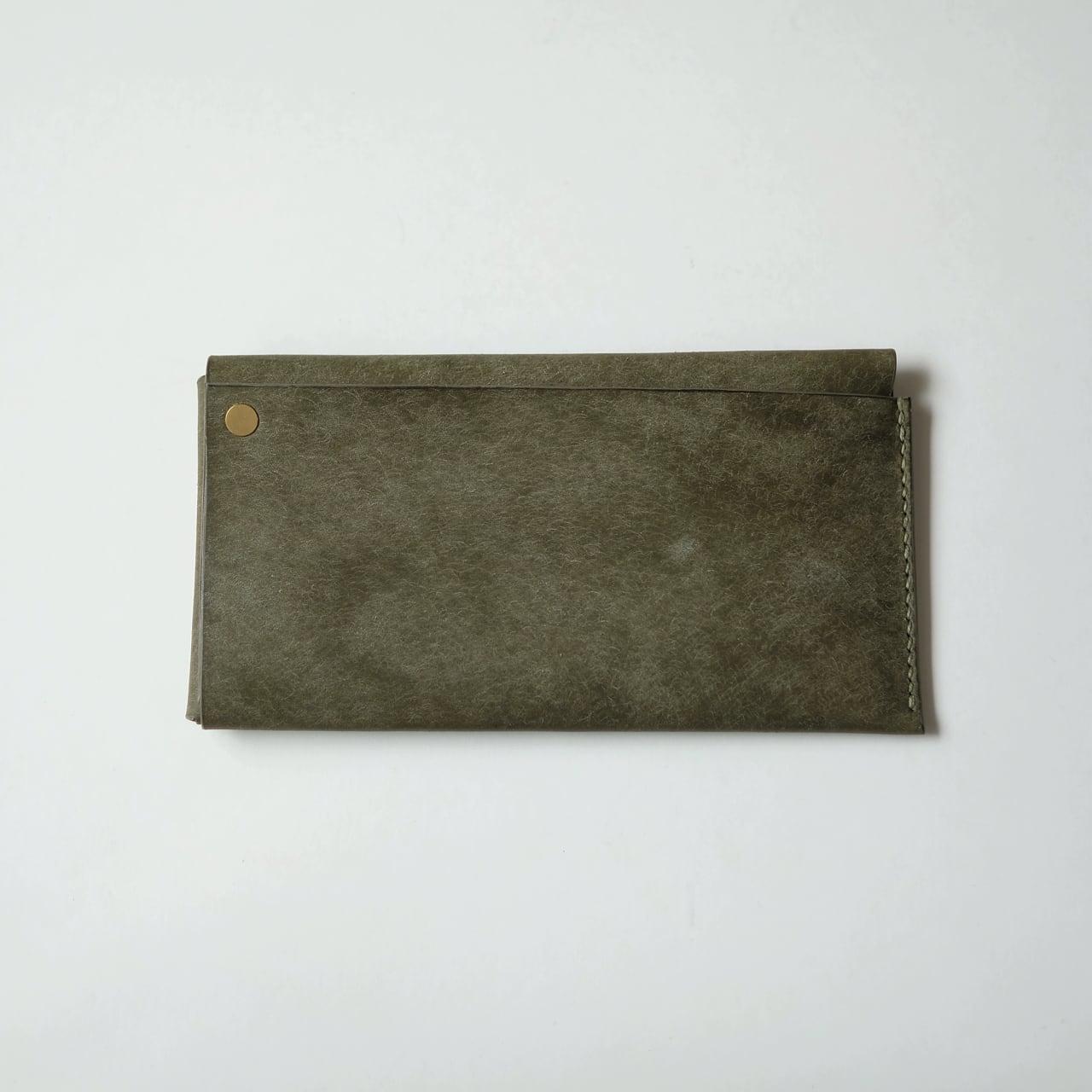 square long wallet - gri - プエブロ