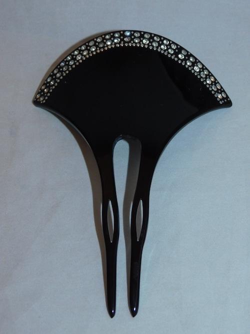 アール・デコ簪(プラスチック)plastic work ornamental hair pin