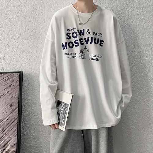 ポッププリントロングTシャツ BL9388