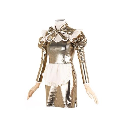 サイバーメイド服セット ミニタイトスカート