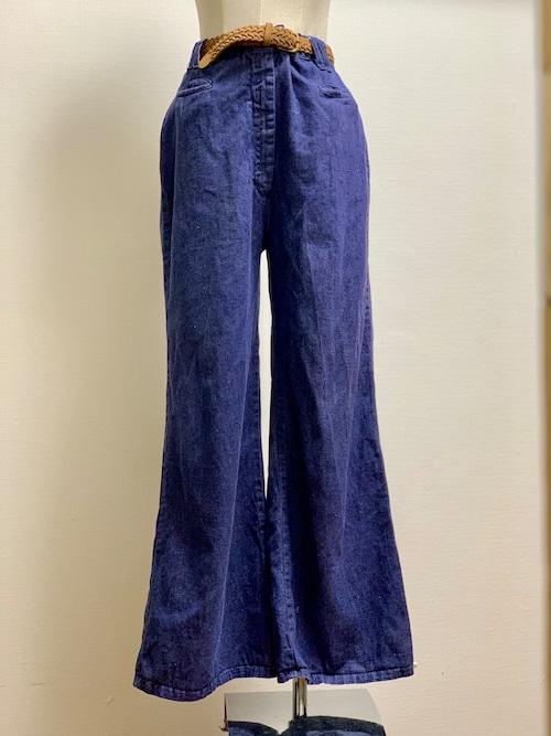 Vintage Wide Leg Denim Pants ②