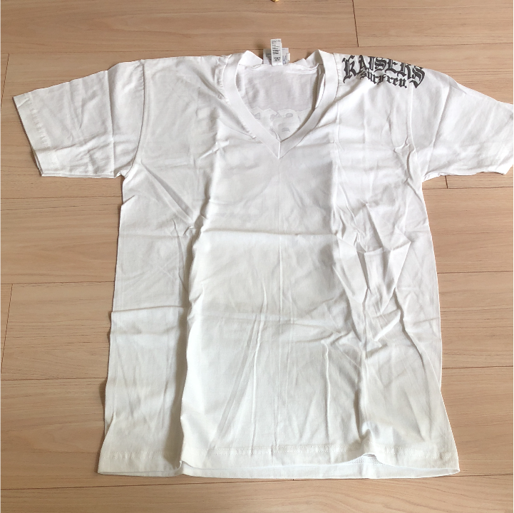 Vネックmen'sTシャツ