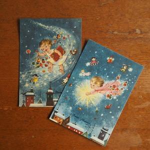 イタリアのクリスマスカード  B
