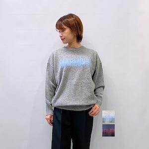 marmors(マルモア) intarsia P/O クルーネックニット 2021秋冬新作 [送料無料]