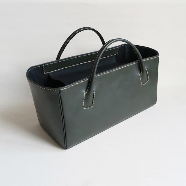 Square box bag D.GREEN