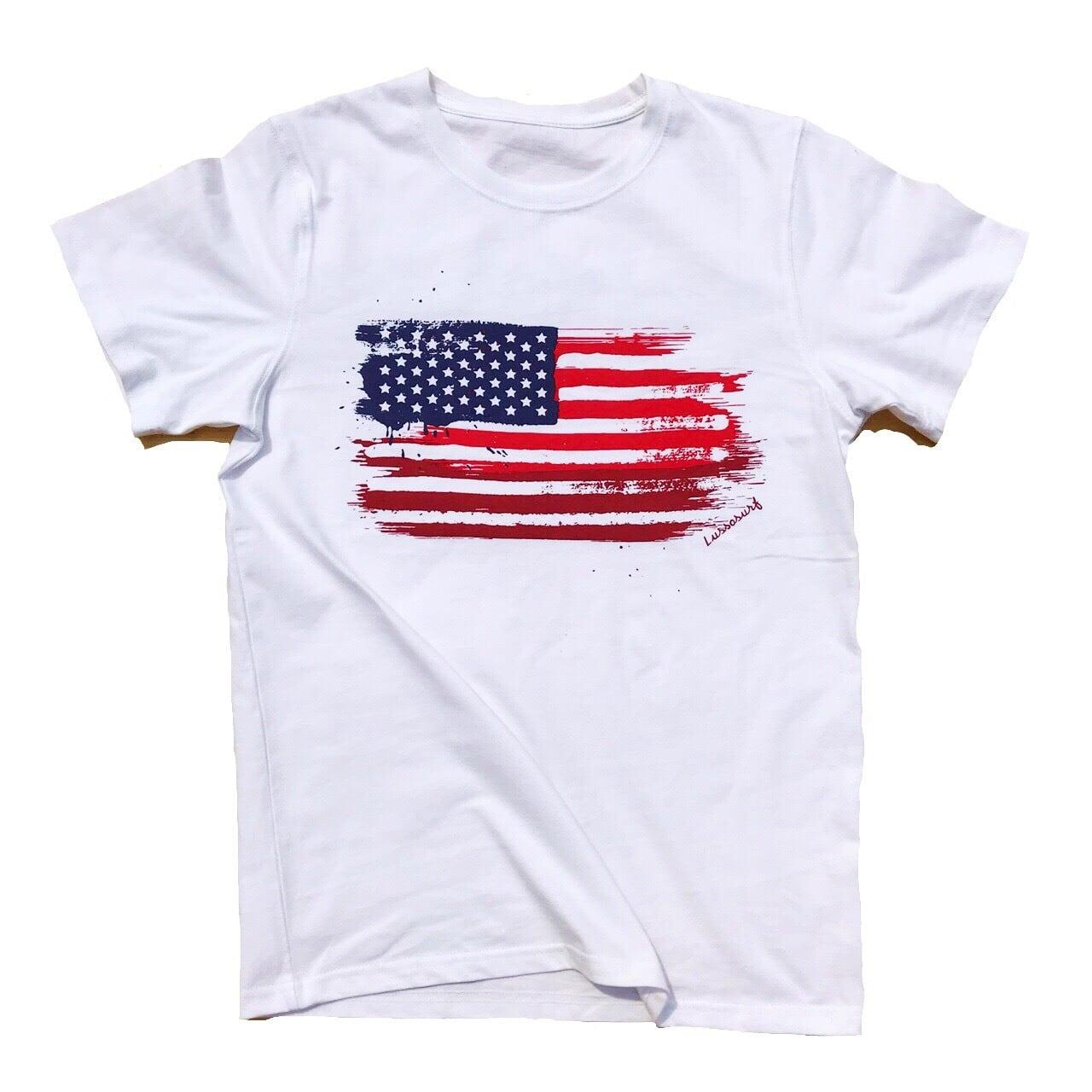 Americanflag Tee 【Men】