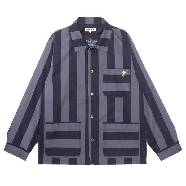 Fucking Awesome|Filigree Striped Chore Jacket