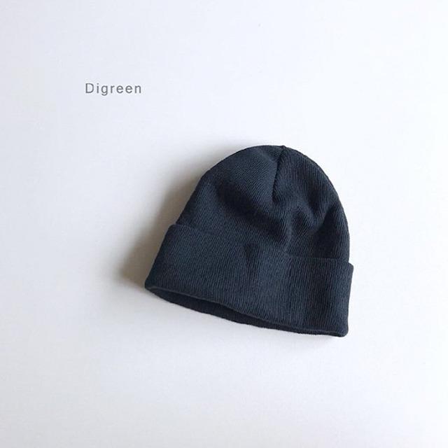 ベーシックコットン帽 [navy]