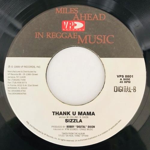 Sizzla - Thank U Mama【7-11026】