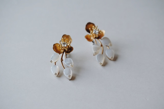 Bridal Earring・vintage・2011/sale