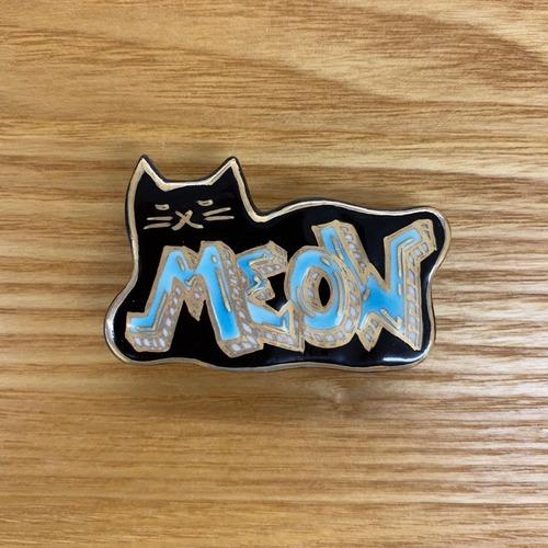 グラフィティ meow (帯留・ブローチ)