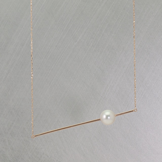 Stick necklace / Pearl