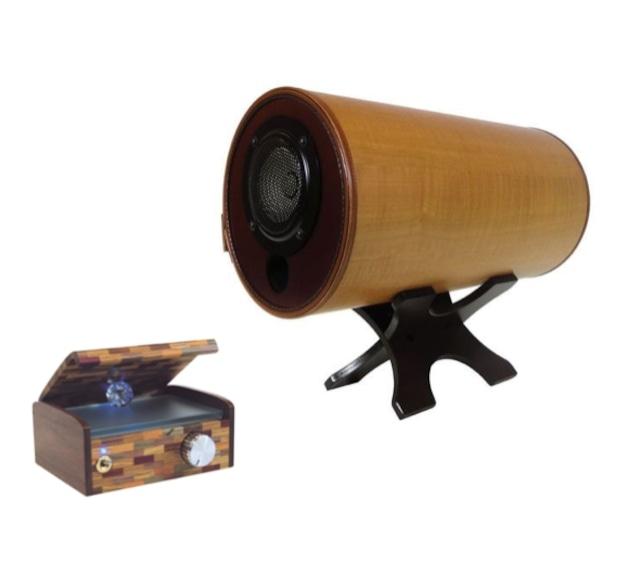 【リビングに本格的な音を・アンプとセット】MS1001-M(メープル)/W(ウォルナット) & オリジナルアンプMS-Amp12のセット