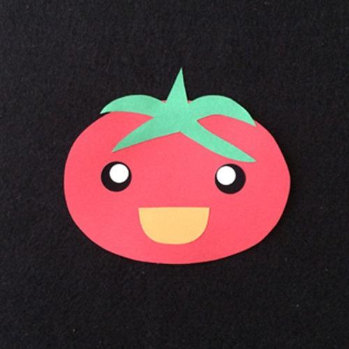 トマトの壁面装飾