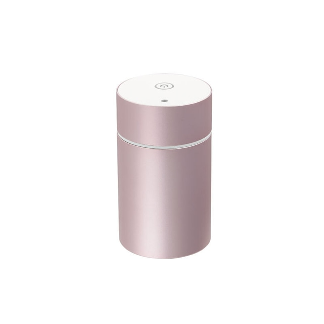 水もいらない! 簡単に香りが拡散!アロモアミニ ピンク