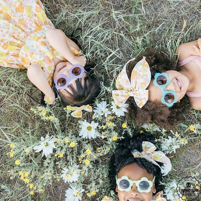«即納» wunderkin co kids flower sunglass フラワーサングラス