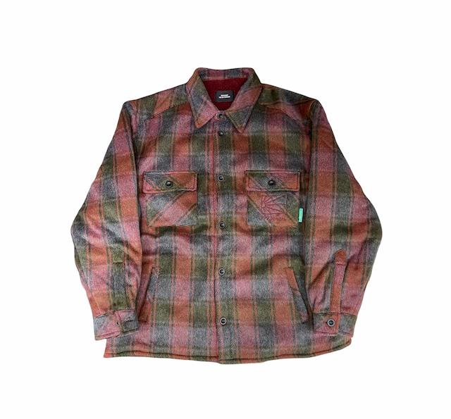 Rassvet Sherpa Lined Shirt Red