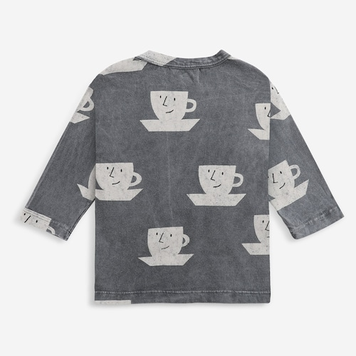 BOBOCHOSES Cup Of Tea All Over long sleeve T-shirt (12-36m)