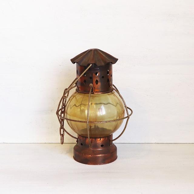 【R-393】香港製 レトロオイルランプ